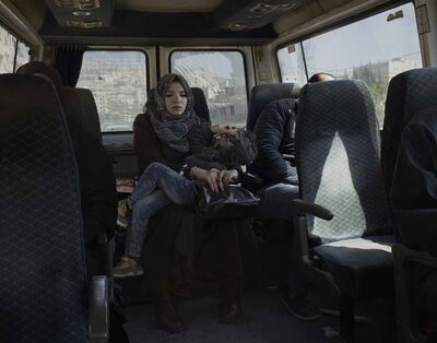 Luc Delahaye, 'Taxi', 2016