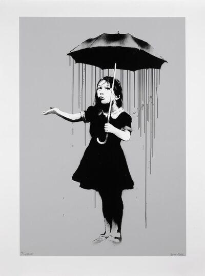 Banksy, 'Nola 'Grey Rain' (Signed)', 2008
