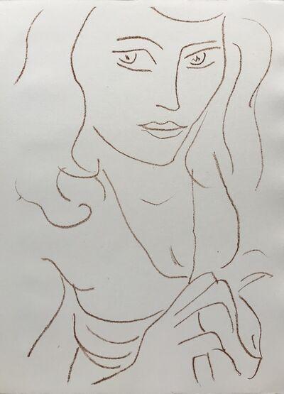 Henri Matisse, 'Visages I', 1946