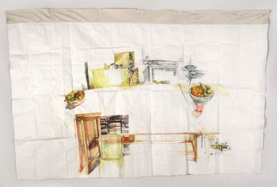 Dawn Clements, 'Susan Rethorst's Table', 2013