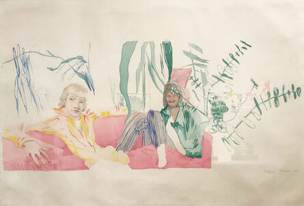 Patrick Procktor, 'Eric and Gervase', 1969