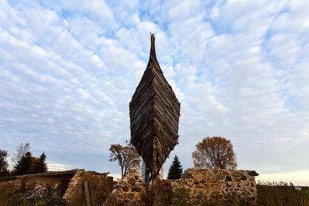 Scott Hocking, 'Celestial Ship of the North (Emergency Ark) aka The Barnboat, #0733', 2015