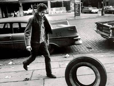 Jim Marshall, 'Bob Dylan, New York City', 1963