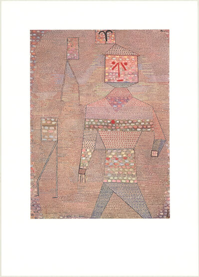 Paul Klee, 'General in Charge of the Barbarians', (Date unknown)