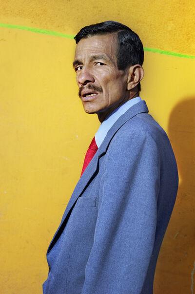 Bruce Gilden, 'Simon. Bogota, Colombia.', 2013