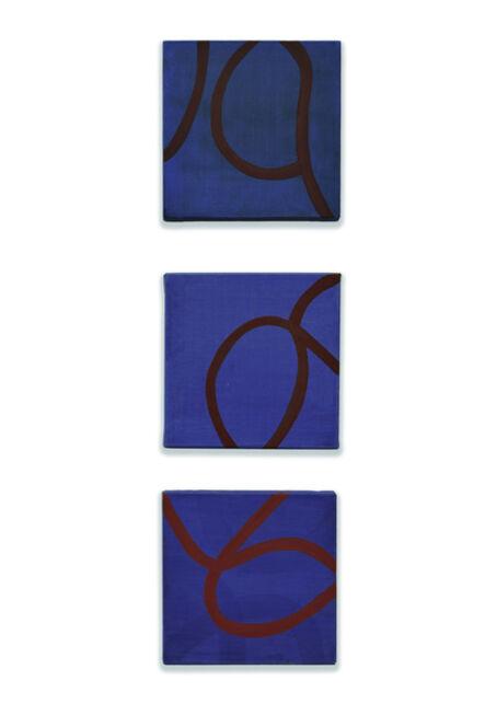 Clytie Alexander, 'Blue Column Three', 2020