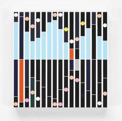 Sarah Morris, 'Enemy [Sound Graph]', 2018