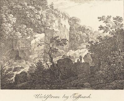 Max Joseph Wagenbauer, 'Waldstrom bey Teissnach', ca. 1810