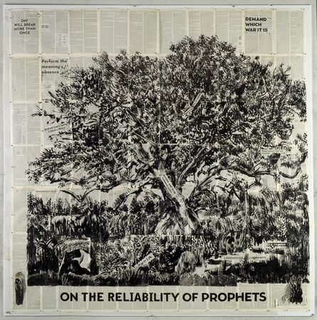 William Kentridge, 'Untitled (On the Reliability of Prophets)', 2019