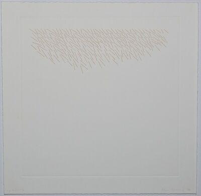 Edda Renouf, 'Clusters (Plate 6)', 1976