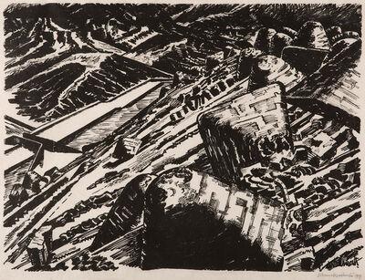 Edward Wadsworth, 'Ladle Slag, Old Hill,1 ', 1919