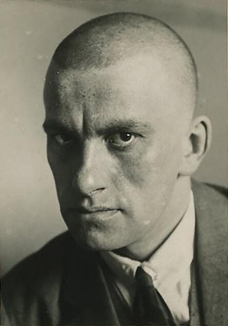 Alexander Rodchenko, 'Vladimir Mayakovsky, April 1924. Portrait, half profile, printed by Nikokai Lavrentiev.', ca. 1955
