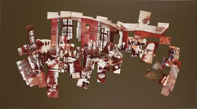 David Hockney, 'Luncheon at the British Embassy, Tokyo, February 16th 1983', 1983