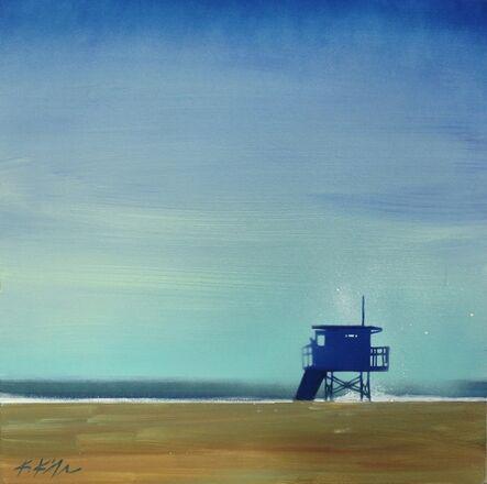 Kathleen Keifer, 'Blue Tower Blue Sky', 2016