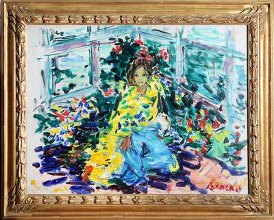 Dimitrie Berea, 'Kathleen in Yellow Coat', 1969