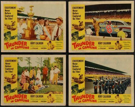 Anon, 'THUNDER IN CAROLINA 8 Lobby Cards 1960 Rory Calhoun, the World Series of stock car racing!', 1960