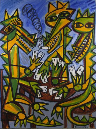 Pasquale Giardino, 'Crocodiles Playing Cards', 2005