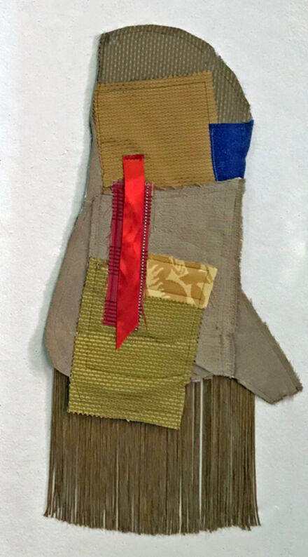 Mary McFerran, 'small quilt with fringe', 2020