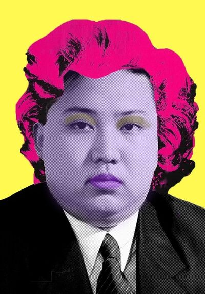 Cartrain, 'Kim Jong-un', 2015