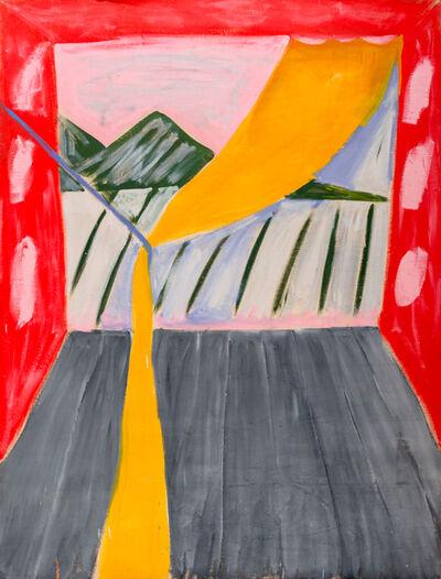 Menashe Kadishman, 'Homage to Matisse  ', ca. 1990