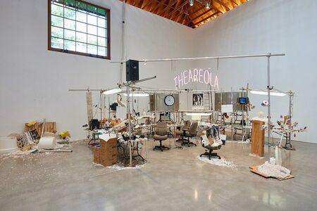 Jason Rhoades, 'Installation view, The Grand Machine/THEAREOLA', 2002