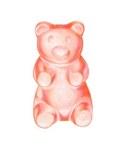 Kendyll Hillegas, 'Gummy Bear Pink-Orange', 2017