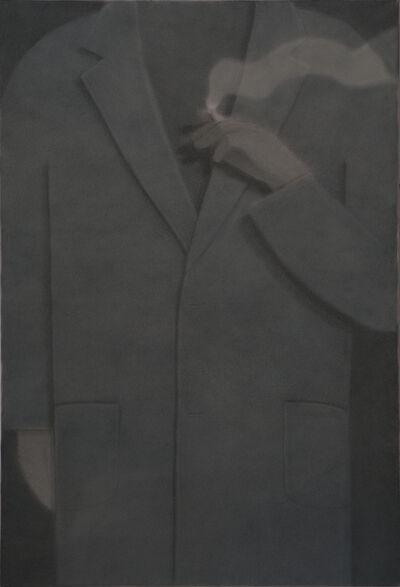 Johnny Izatt-Lowry, 'Smoker, at night', 2020