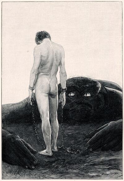 Sascha Schneider, 'Der Gefühl Der Abhängigkeit', 1894-1895