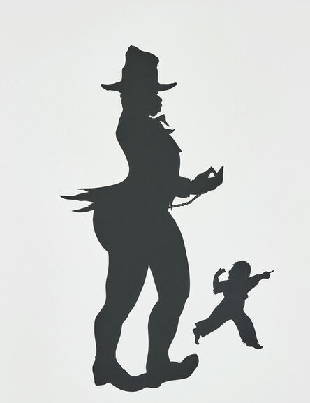 Kara Walker, 'Pocketwatch, scene No. 5, from The Emancipation Approximation', 1999-2000