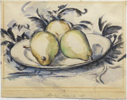 Paul Cézanne, 'Three Pears', ca. 1888-90