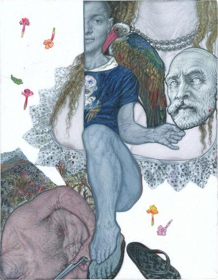 Emmanouil Bitsakis, 'Η Κεφαλή του Ανδρέα Συγγρού/The Head of Andreas Syggros', 2020