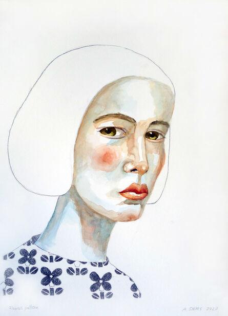 Anne Siems, 'Flowers Pattern', 2020
