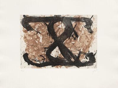 Antoni Tàpies, 'Le Huit', 1969