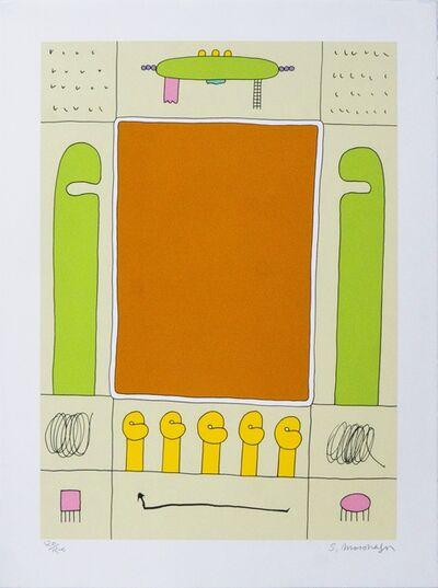 Sadamasa Motonaga, 'Green( あかいしかくはみどりとみどり)', 1993