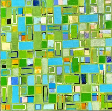 Petra Rös-Nickel, 'Pattern Green 21-9', 2021