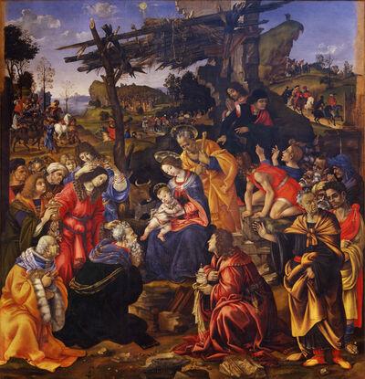 Filippino Lippi, 'The Adoration of the Magi', 1496