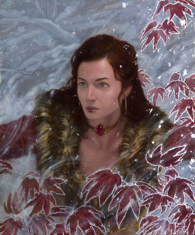 Donato Giancola, 'Melisandre - Ice and Fire', 2017