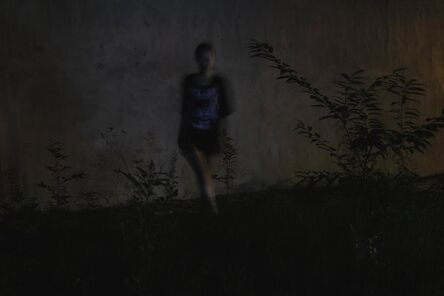 David Verbeek, 'Girl, Tiger Ghost, The taking of a picture, sometime somewhere'