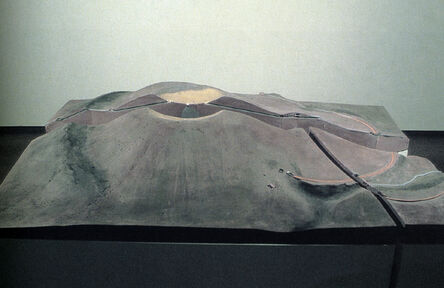 James Turrell, 'Crater Modell in 3 Parts', 1987