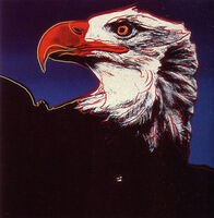 Andy Warhol, 'Endangered Species: Bald Eagle, II.296', 1983