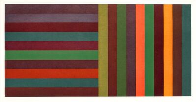 Sol LeWitt, 'Horizontal Color Bands and Vertical Color Bands II', 1991