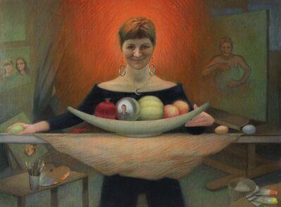 Nicole Alger, 'Chick on Fire: A Portrait of Judy Takács', 2020