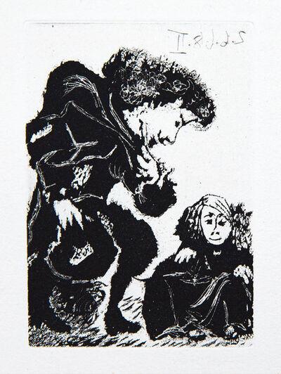 Pablo Picasso, 'Petite Infante Accroupie et Courtisan', 1968