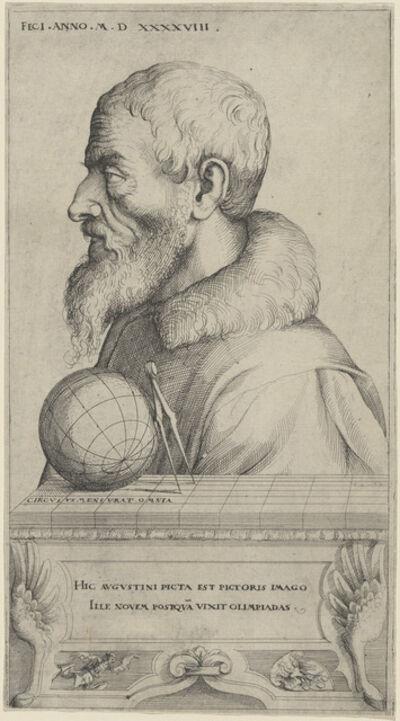 Augustin Hirschvogel, 'Self-Portrait', 1548