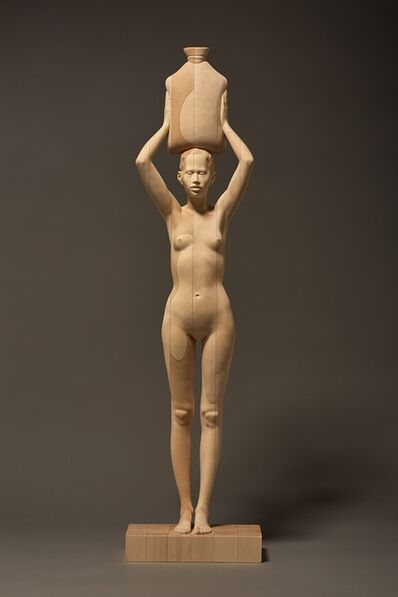 Mario Dilitz, '171. woman with vessel', 2018