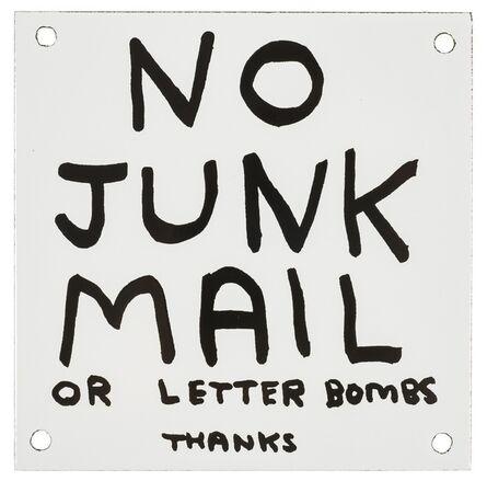 David Shrigley, 'No Junk Mail', 2014