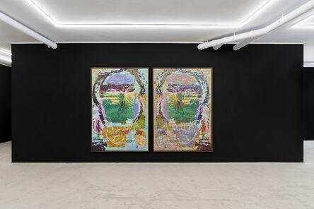 Gerald Davis, 'Rorschach Skulls 1 and 2', 2019