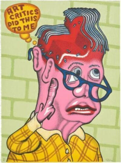 Peter Saul, 'Self Portrait with Haircut', 2003