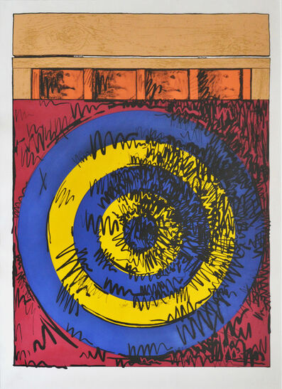 Jasper Johns, 'Target with Four Faces', 1968