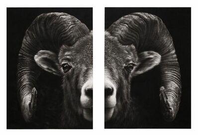 Robert Longo, 'Study for Split Ram', 2018
